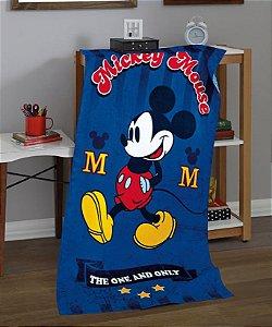 Toalha de Praia Licenciada aveludada 76 x 152cm Mickey