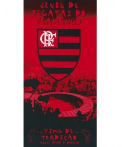 Toalha Praia Velour Flamengo 01 - Dohler