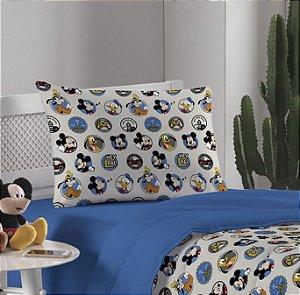 Fronha avulsa 1 peça de Malha Amigos do Mickey Disney