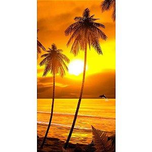 Toalha de Praia aveludada Sunset Buettner