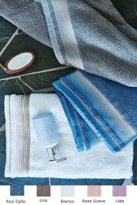 Toalha de Banho 75cm x 150cm 100% algodão Quasar LM Peter Tecelagem