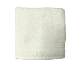 Toalha de Rosto para Salão Profissional Branca