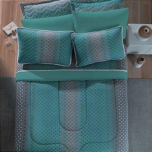 Jogo de Cama King 3 peças de Malha 100% algodão lençol com elástico e fronhas Vivaldi New York