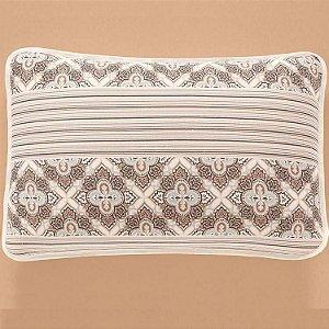 Jogo de Cama Casal  3 peças de Malha 100% algodão lençol com elástico liso e fronhas estampadas Vivaldi Sivas