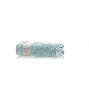 Toalha de Rosto avulsa 1 peça 100% algodão Quasar Azul Retrô