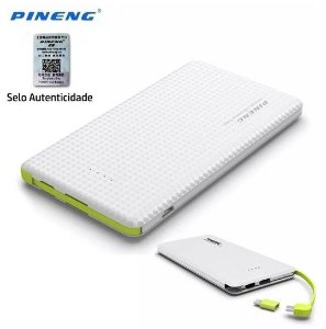 Carregador Portátil Celular 10000 Mah Power Bank Pineng