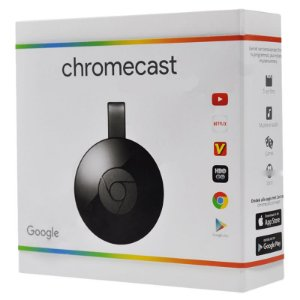 Google Chromecast 2 para TV's HDMI Conexão Wi-Fi