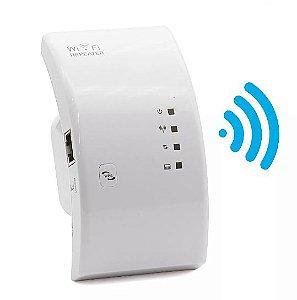 Repetidor Amplificador de sinal W-Fi 300mbps WPS RJ-45