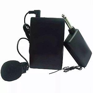 Microfone Lapela sem fio Profissional Wireless Headset P2 P10
