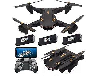 Drone Xs809s Battles Sharks Câmera 2.0mp Hd