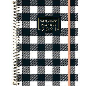 Planner Espiral West Village 2021 - Sortido