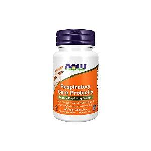 Respiratory Care Probiotic 60 Cápsulas - NOW