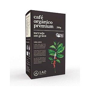 Café Orgânico Premium Torrado em Grãos 100% Arábica  250g - IAO