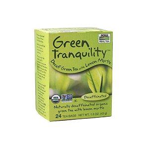 Chá Verde Green Tranquility 24 sachês - Now Real Tea