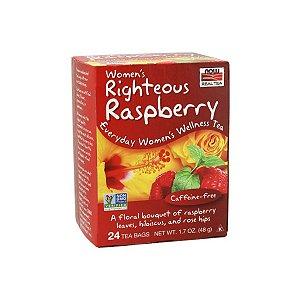 Chá Women's Righteous Raspberry 24 sachês - Now Real Tea