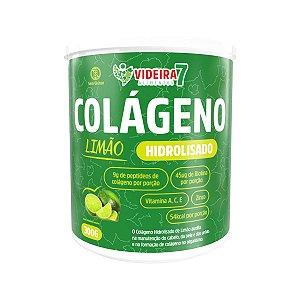 Colágeno Hidrolisado c/ VIT E MIN + BIOTINA Limão 300g - Videira 7