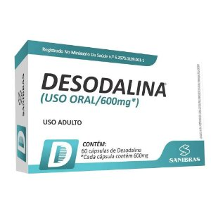 Emagrecedor Desodalina 600mg - Power Supplements