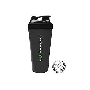 Coqueteleira Shaker 600ml com mola - BH Suplementos