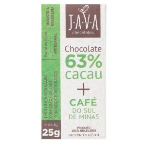 Chocolate artesanal tablete - Java Chocolates