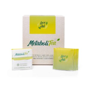 Chá Metabolitea 60 sachês - Leve Chá