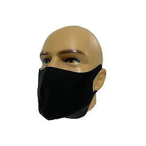 Kit 5 máscaras de Neoprene preta - Reutilizável/Lavável