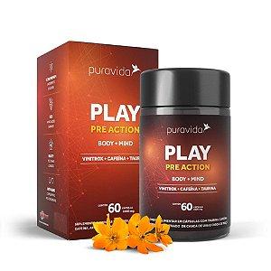 PLAY Pre Action 60 Cápsulas - Puravida