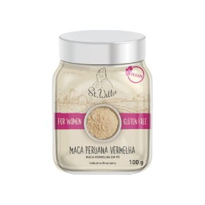 Maca Peruana Vermelha For Women 100g - St Willie