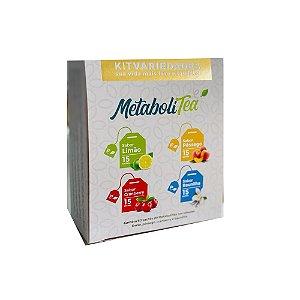 Metabolitea VARIEDADES 60 sachês - Leve Chá