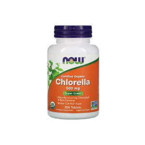 Chlorella 500mg 200 Tabletes - NOW