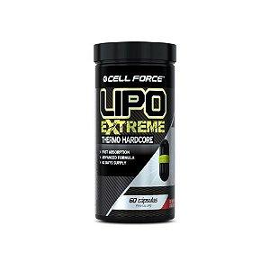Lipo Extreme 60 Cápsulas - Cell Force