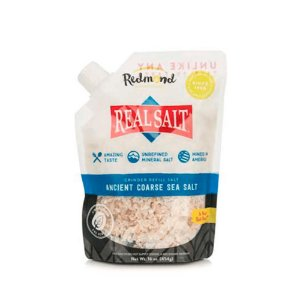 Sal Integral Grosso Pacote 454g - Real Salt
