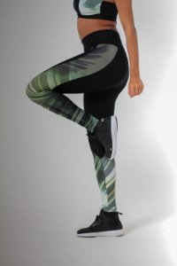 Legging Active Black & Green