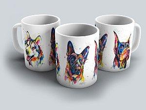 """Caneca """"Dogs"""" 01"""