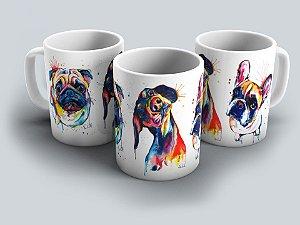 """Caneca """"Dogs"""" 02"""