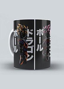 """Caneca """"Goku - Transformações"""""""