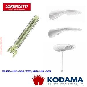 RESISTENCIA LORENZETTI ADVANCED MULTITEMPERATURA / TOPJET 220V 6400W 3055P