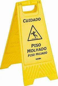 PLACA SINALIZADORA DE PISO VONDER