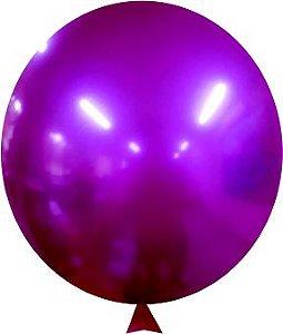 Balão Metalizado violeta Nº9 C/25 Unidades - Maricota Festas