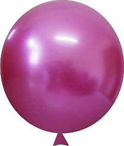 Balão Metalizado Rose Nº9 C/25 Unidades - Maricota Festas