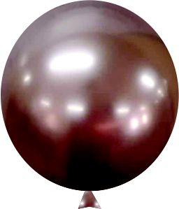 Balão Metalizado Rose Gold Nº9  C/25 Unidades - Maricota Festas