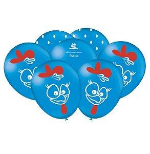 Balão Imperial Temático Galinha Pintadinha C/25 Unidades. Maricota Festas