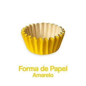 Forminha Nº05 Plac Amarelo C/100 Unidades - Maricota Festas