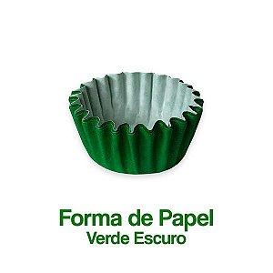 Forminha Nº05 Plac Verde Escuro C/100 Unidades - Maricota Festas
