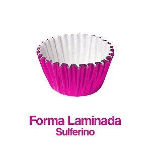 Forminha Laminada Nº05 Sulferino C/100 Unidades - Maricota Festas