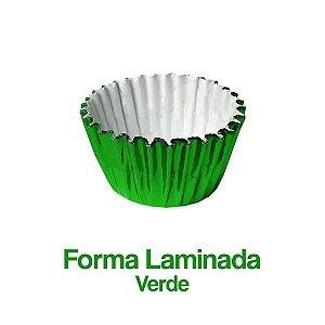 Forminha Laminada Nº06 Verde C/100 Unidades - Maricota Festas