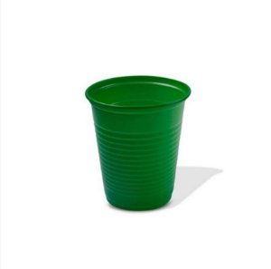 Copo Descartável Verde Escuro 220ML C/50 Unidades - Maricota Festas