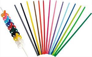 Pega Vareta colorido C/10 Unidades - Maricota Festas