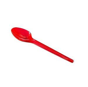Colher Sobremesa Vermelha C/50 Unidades - Maricota Festas