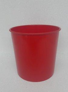Balde de Pipoca 1200ML Vermelho - Unidade