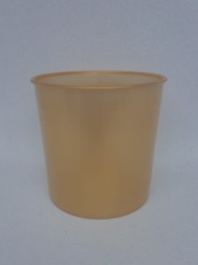 Balde de Pipoca 1200ML Dourado - Unidade